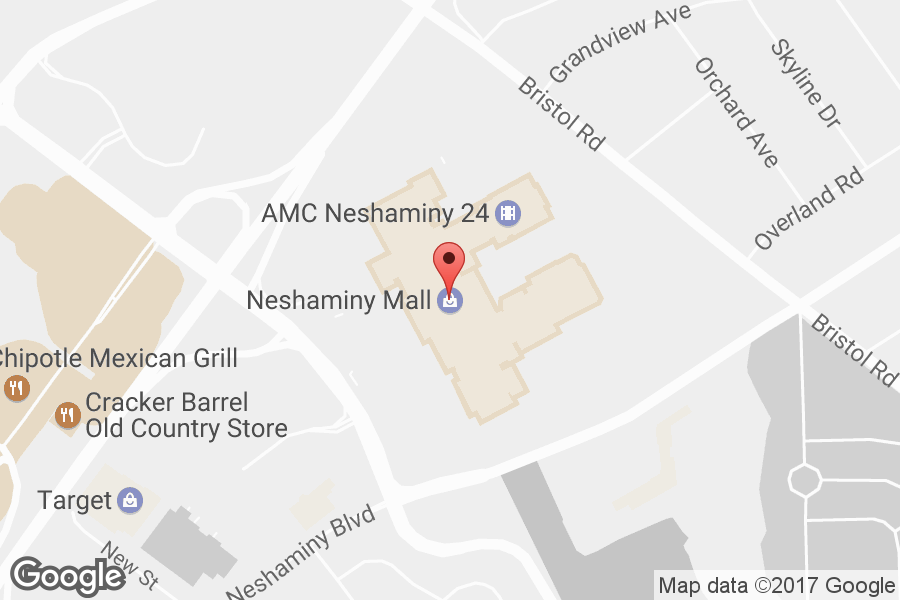 Map of Neshaminy Mall - Click to view in Google Maps